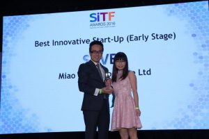 Miao wins Silver Award at SiTF Awards!