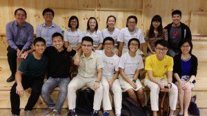 Visit by Hwa Chong Students!