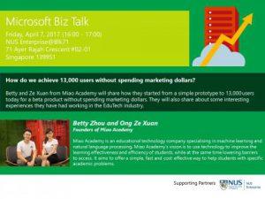 Microsoft Biz Talk: How Do We Achieve 13,000 Users Without Spending Marketing Dollars?