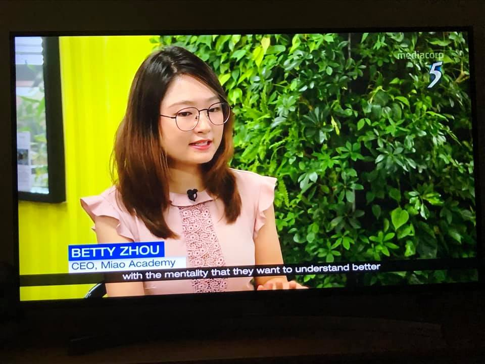 Miao is featured on Channel 5