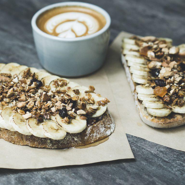 Nutella & Banana Toast